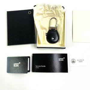 Montblanc Meisterstuck Key Fob Black Leather